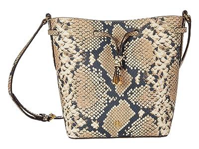 LAUREN Ralph Lauren Debby II Crossbody (Nude) Handbags