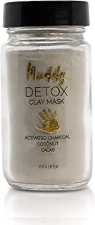 Muddy Body - Clay Masks | Natural Mud for Face Skincare - Detox, Relax, or Refresh (Detox)