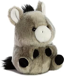 Aurora World 16835 Rolly Pet Bray Donkey Plush, Gray