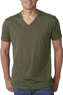 Next Level Men's CVC Combed Baby Rib-Knit V-Neck T-Shirt