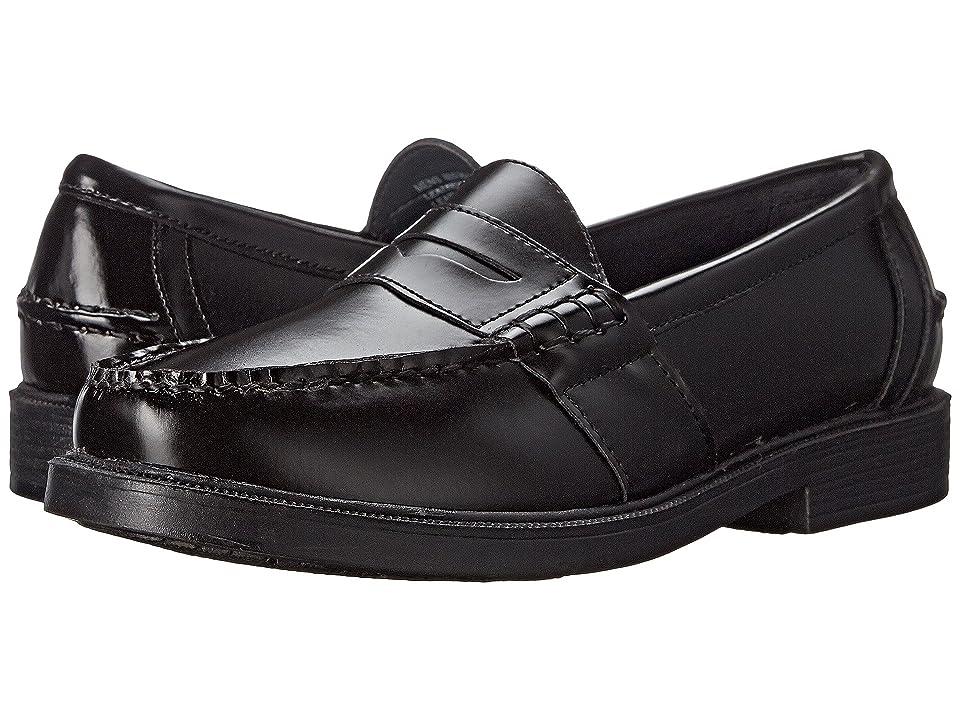 Nunn Bush Lincoln Penny Loafer (Black Polished Leather) Men