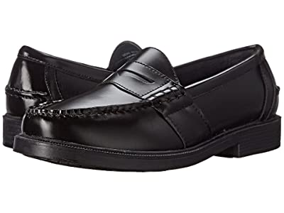 Nunn Bush Lincoln Penny Loafer (Black Polished Leather) Men