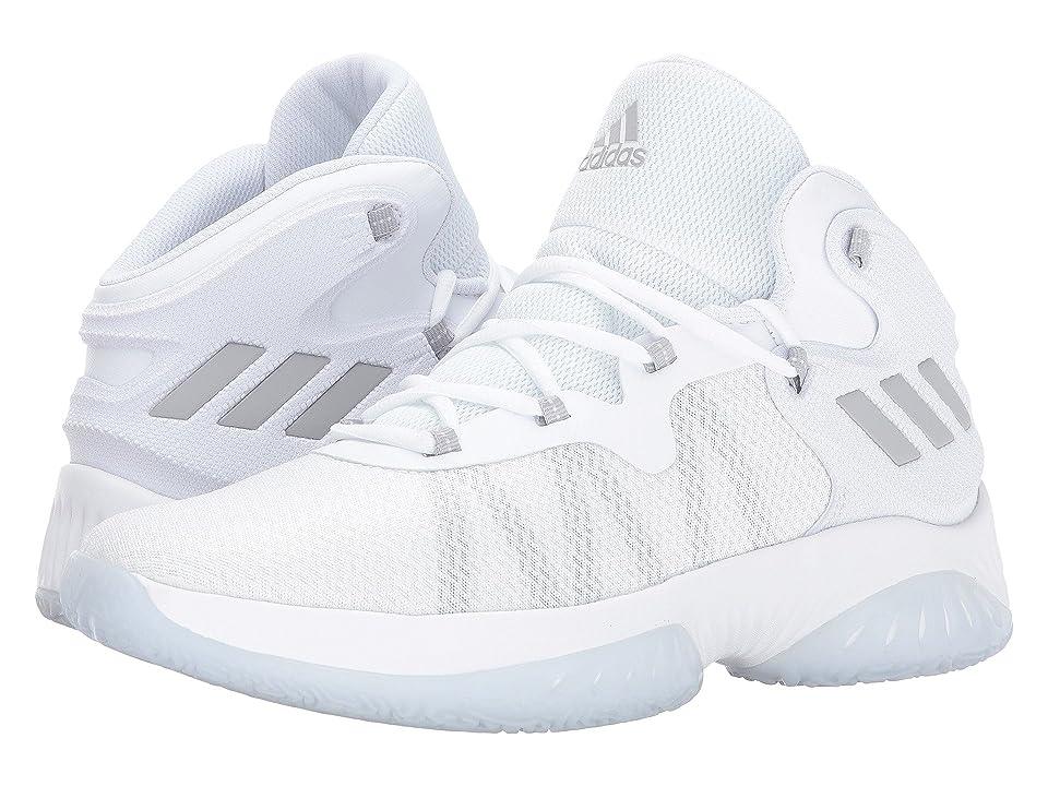 adidas Explosive Bounce (Core White/Grey Two/Grey Three) Men