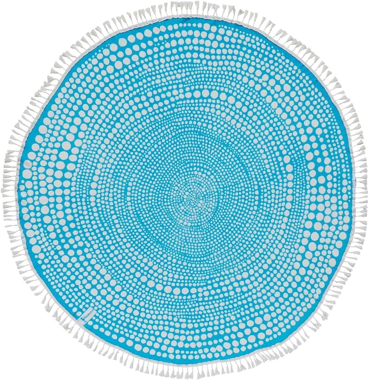 Seahorse Kivi - Strandtuch - Rund - - - 150 cm - Baumwolle - Blau B07BBR8Y8V 409aff