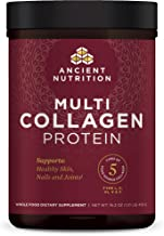 Ancient Nutrition Multi Collagen Protein Powder – Pure, Formulated by Dr. Josh Axe,..