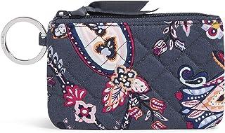 Vera Bradley Signature Cotton Zip ID Case Wallet, Felicity Paisley