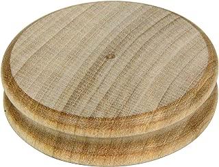 SEIWA へりみがき 木製 丸