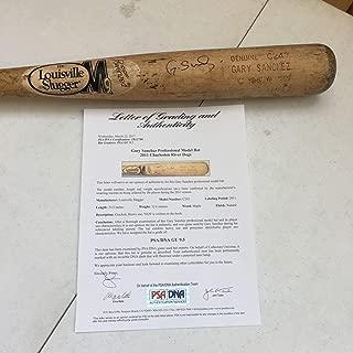 Gary Sanchez Signed Game Used Pre Rookie NY Yankees Baseball Bat GU 9.5! - PSA/DNA Certified - MLB Game Used Bats