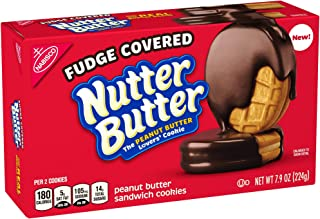 Nutter Butter Fudge Dipped Peanut Butter Cookies - 7.9oz (2 pack)