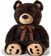 JOON Huge Teddy Bear - Dark Brown