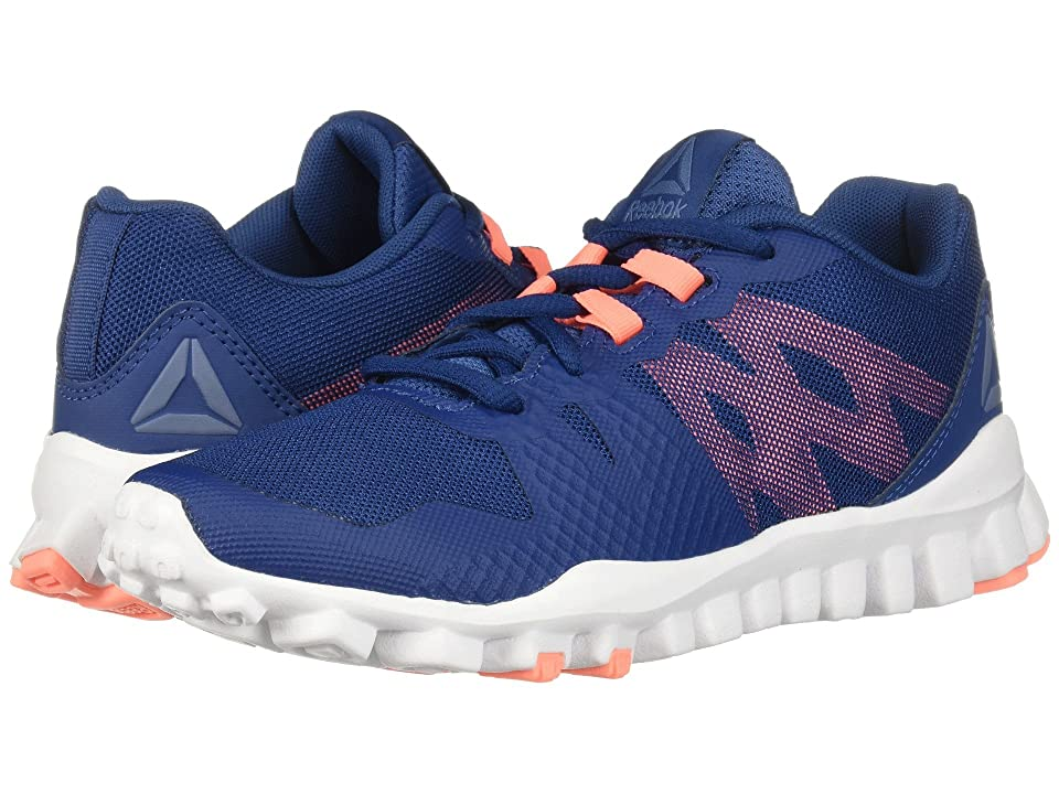 Reebok Realflex Train 5.0 (Bunker Blue/White/Blue Slate/Digital Pink) Women