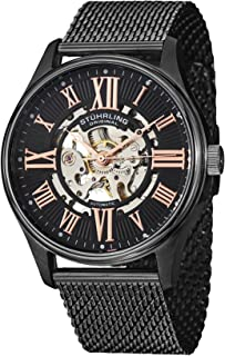 Sturhrling Men's Dial Stainless steel Band Watch - 747M.03