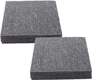 Sponsored Ad – Nisorpa 20 x Hard Wearing Carpet Tiles 50 x 50cm Freely Splice Loop Pile Carpeting Anti-Slip Square Premium...