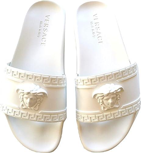 Versace ciabatte sandalo in gomma unisex DSU5883DG09GD01