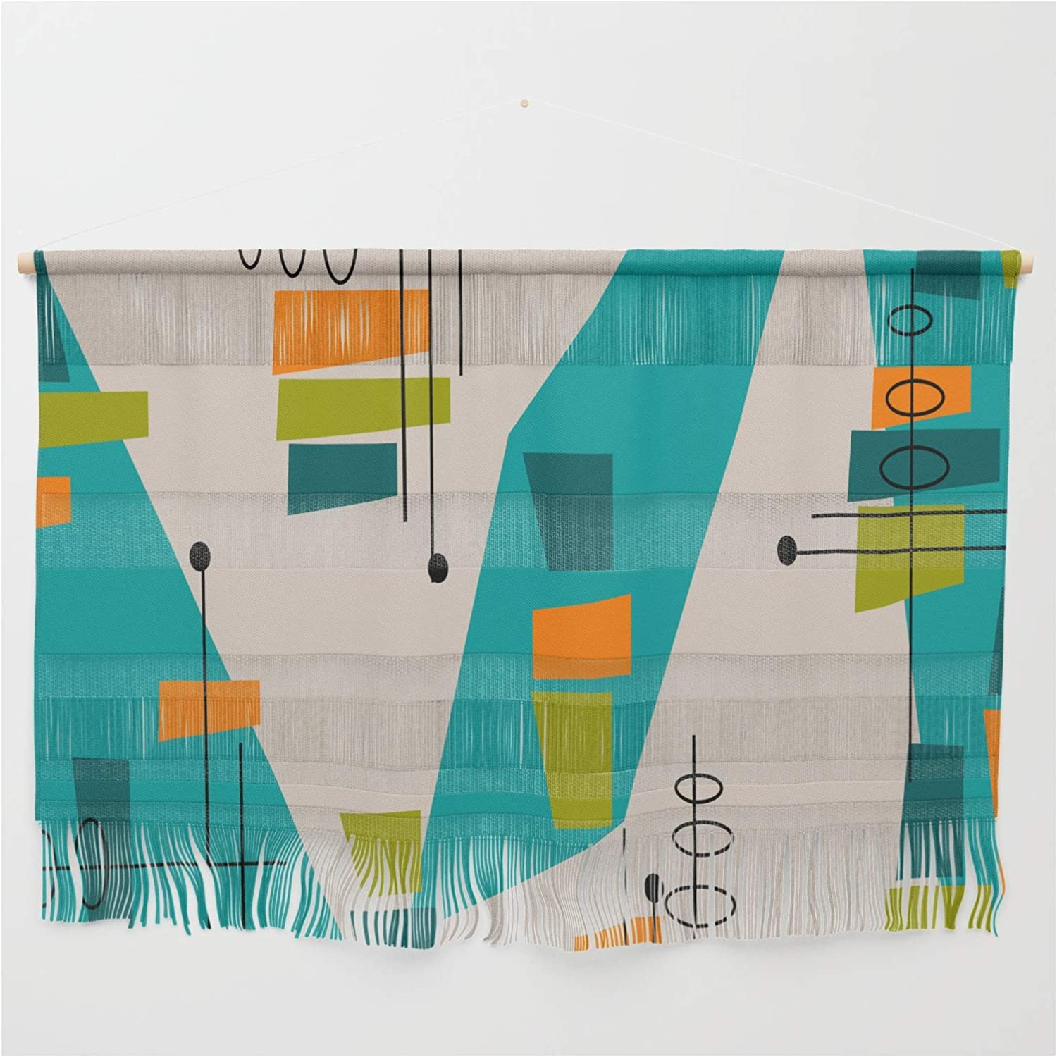 Society6 We OFFer at cheap prices Mid-Century Modern Abstract by Kippygirl Wall 67% OFF of fixed price on Hangin