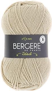 BERGÈRE DE FRANCE - Pelote de Laine IDÉAL (50g) - Fil à Tricoter Chaud et Résistant pour vos tricots - Aiguille et Crochet...