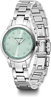 Victorinox Swiss Army Womens Quartz Watch, Analog Display and Stainless Steel Bracelet - 241915