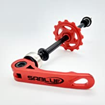 SABLUE Float ON AXLE Bike Chain Keeper Holder Dummy Sleeping Hub Tool Bicycle Cleaning Transporting (RED)