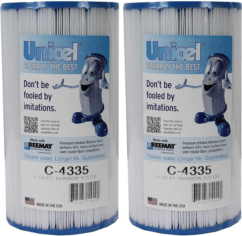 2 UNICEL C-4335 Ranking Regular discount TOP20 Hayward Replacement Pool C4335 Swimming Filters