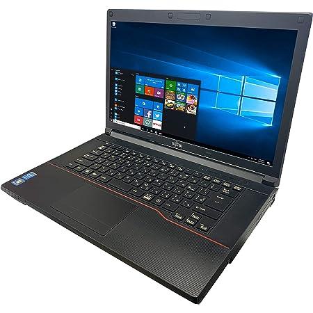 富士通 ノートPC A574/MS Office 2019/Win 10/15.6型/DVD/WIFI/Bluetooth/Core i5-4300M/8GB/1TB HDD (整備済み品)