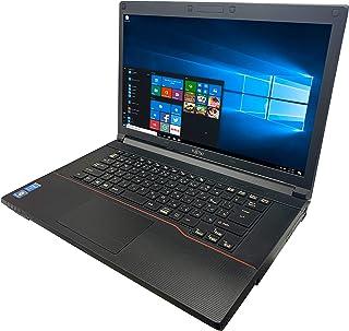 富士通 ノートPC A574/MS Office 2019/Win 10/15.6型/DVD/WIFI/Bluetooth/Core i5-4300M/8GB/512GB SSD (整備済み品)