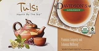 Davidson's Tea Single Serve Tulsi Hibiscus Flower, 100-Count Tea Bags,