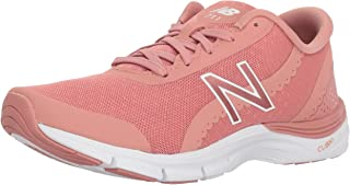 New Balance Women's 711v3 Cross-Trainer-Shoes, Dusted Peach/White, 6.5 B US