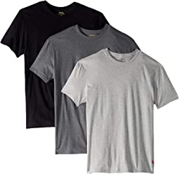 Classic Fit w/ Wicking 3-Pack Crews