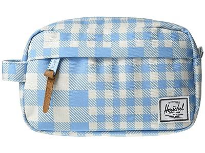 Herschel Supply Co. Chapter Carry On (Gingham Alaskan Blue) Bags