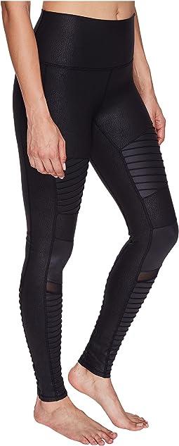 Black Performance Leather/Black Glossy