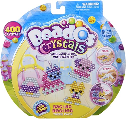 Beados Crystal Pack - sac Tag Bescravates Building Kit by Beados