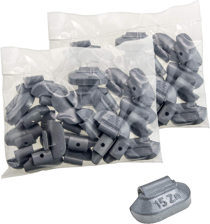Stix 50x Schlaggewichte Stahlfelgen Auswuchtgewichte Zink Zn 35g Wuchtgewichte Für Stahlfelgen Auto