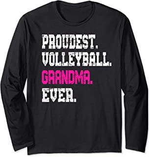Custom Volleyball Grandma TShirt, Best Grandma Ever Gift