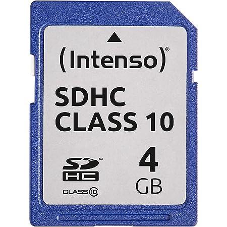 Intenso 4gb Sdhc 4gb Sdhc Speicherkarte Blau Computer Zubehör