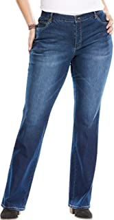Woman Within Women's Plus Size Bootcut Stretch Jean