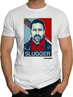 Changes Men's The Walking Dead Negan Slugger Graphic-Print T-Shirt
