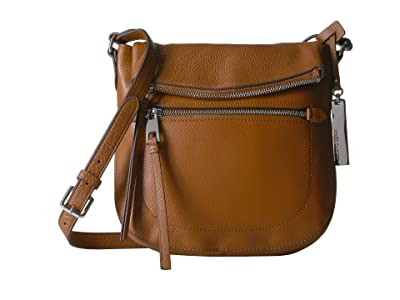 Vince Camuto Tala Crossbody (Dark Rum) Handbags