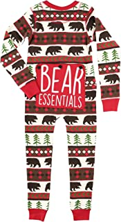 Family Matching Christmas Pajamas by LazyOne | Bear Essentials Holiday PJ Onsie