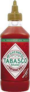 TABASCO Sriracha-Sauce 256 ml - ohne Konservierungsstoffe - scharfe Chili-Saue