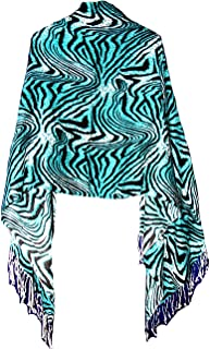 Missy & Plus Cashmere Feel For Women, Super Soft Pashmina Silk Mix Shawl For Cold Weather 2549