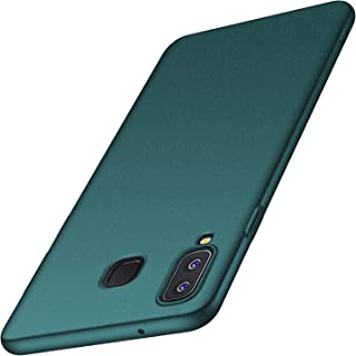 anccer Compatible for Samsung Galaxy A8 Star Case,A9 Star Case [Ultra-Thin] [Anti-Stain] [Anti-Drop] Premium Material Slim Full Protection Cover (Not for Galaxy A8)-Gravel Green