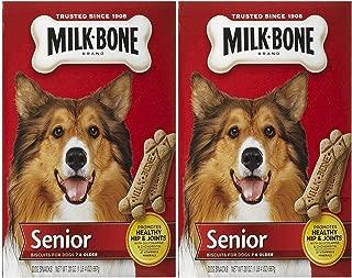 Milk-Bone Original Senior Dog Biscuits, 20 Ounce, (Pack Of 2)