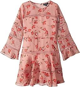Poppy Trim Dress (Big Kids)