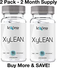 XyLEAN Huge Sale | #1 Rated Diet Pills for Men & Women w/FDA Approved Phase 2 Carb Controller | Dr. Formulated Weight Loss Aid | Helps Curb Hunger, Reduce Water Retention, Increase Energy | 2 Pack