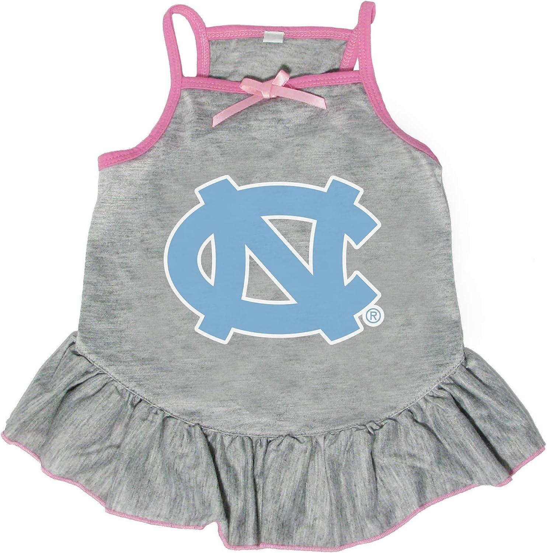 Littlearth NCAA North Carolina Tar Heels Medium Pet New Orleans Mall Dress In stock