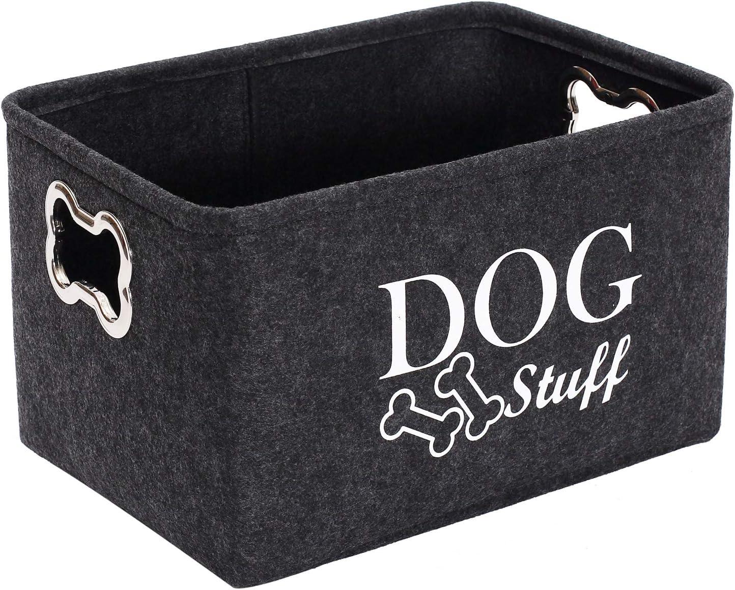 Felt Puppy Stuff shipfree Baskets Dog Toy Max 89% OFF Designed Storage bin Meta with