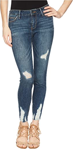 The Kitten Mid-Rise Skinny Crop in Margaux