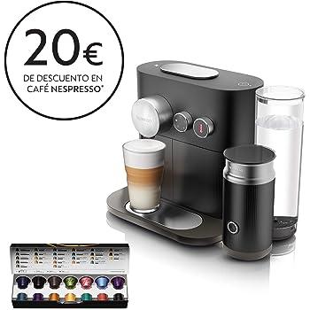 Nespresso Krups Expert Milk XN6018 - Cafetera monodosis de cápsulas Nespresso con aeroccino, controlable con ...
