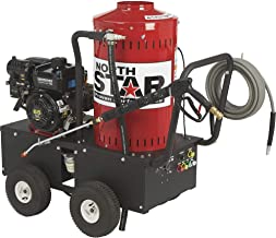 NorthStar Gas Wet Steam and Hot Water Portable Pressure Power Washer – 2700 PSI,..