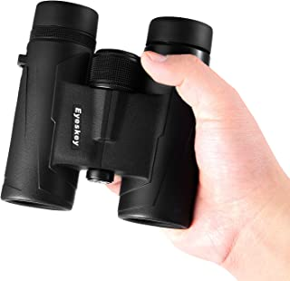 Eyeskey 8x32 Professional Waterproof Binoculars for Travelling, Hunting and Outdoor Activities, Compact and Lightweight, E...
